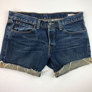 Levi's Premium Skinner Denim Jean Shorts